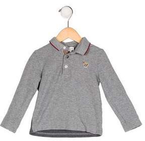 Paul Smith Boys' Collared Long Sleeve Shirt