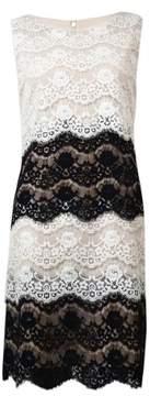 Jessica Simpson Women's Multi Color Lace Dress