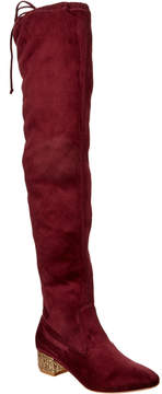 Catherine Malandrino Glitzy Over-The-Knee Boot