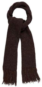 Dolce & Gabbana Wool-Blend Fringe Scarf