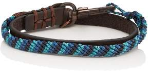 Co Caputo & CAPUTO & MEN'S KNOTTED DOUBLE-WRAP BRACELET