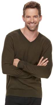 Marc Anthony Big & Tall Men's Slim-Fit Soft-Touch Modal V-Neck Sweater