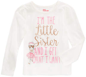 Epic Threads Mix and Match Little Sister Graphic-Print Shirt, Little Girls (4-6X), Created for Macy's