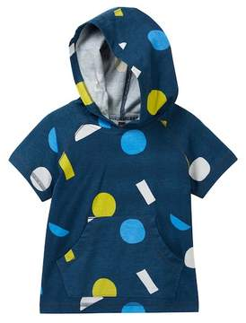 Tea Collection Dubbo Happy Short Sleeve Hoodie (Toddler, Little Boys, & Big Boys)