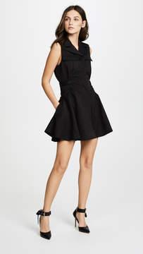 Carven Flared Mini Dress