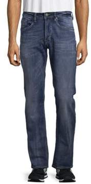 Buffalo David Bitton Washed Five-Pocket Jeans