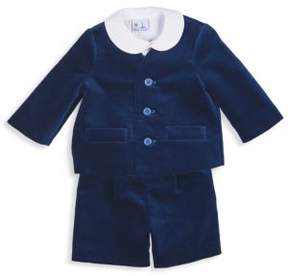 Florence Eiseman Baby's Three-Piece Top, Jacket & Short Set