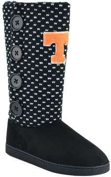 NCAA Women's Tennessee Volunteers Button Boots