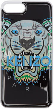 Kenzo Black and Blue Limited Edition Northern Lights Tiger iPhone 7 Plus Case