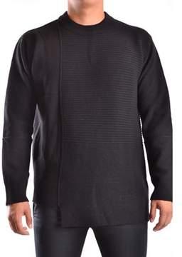 Diesel Black Gold Men's Black Wool Sweater.