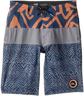 Quiksilver Techtonics Beach Shorts Boy's Swimwear