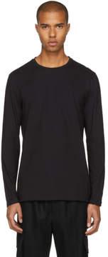 Helmut Lang Black Long Sleeve Standard Fit T-Shirt