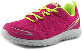 Fila Flyver Youth Round Toe Synthetic Pink Running Shoe.