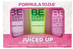 Formula 10.0.6® Dramatically Juiced Up Be Berry Face Mask Collection