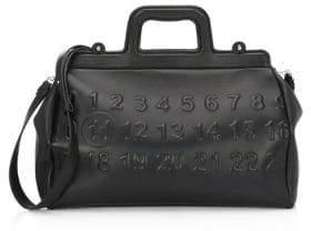 Maison Margiela Logo Leather Top Handle Bag