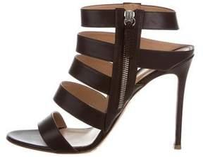 Gianvito Rossi Leather Multistrap Sandals