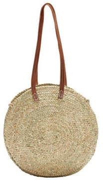 LUCENA. Round Shopper Basket