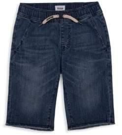 Hudson Little Boy's& Boy's Denim Pull-On Board Shorts