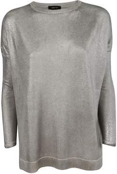 Avant Toi Glossy Metallic Sweater