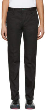 Paul Smith Black Slim Stay Sharp Trousers