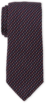 Altea Zigzag Pattern Silk Tie