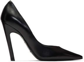 Balenciaga Black Slash Heels