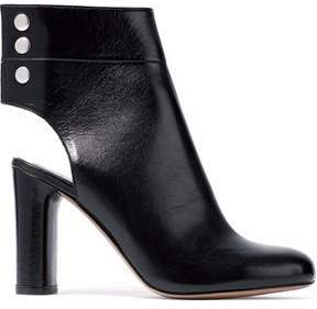 IRO Cutout Leather Ankle Boots