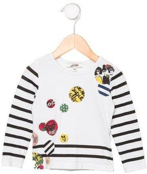 Junior Gaultier Girls' Printed T-Shirt