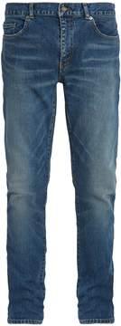 Saint Laurent Five-pocket straight-leg jeans