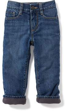 Old Navy Micro-Fleece-Lined Jeans for Toddler Boys