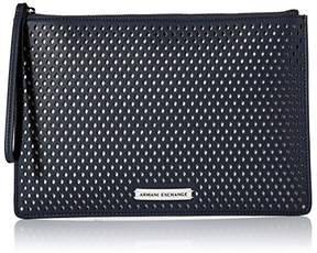 Armani Exchange A X Big Perforated Pouch