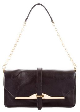 Rachel Zoe Leather Flap Shoulder Bag