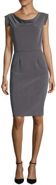 Ava & Aiden Women's Cowlneck Sheath Dress