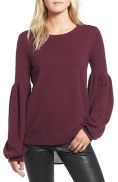Chelsea28 Women's Woven Back Sweater