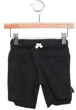 Nununu Boys' Frayed Knee-Length Shorts