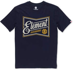 Element Men's Bate Logo-Print T-Shirt