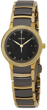 Rado Centrix Black Dial Ladies Watch