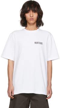 Acne Studios White Jaceye Nurture Print T-Shirt