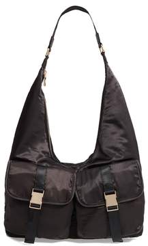 Steve Madden Satin Hobo Bag
