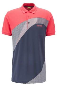 BOSS Hugo Cotton Blend Polo Shirt, Regular Fit Paddy Pro S Pink