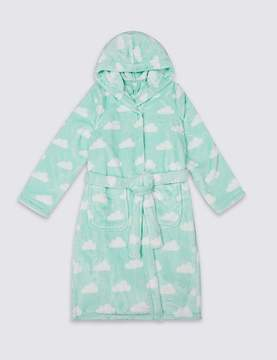 Marks and Spencer Cloud Print Dressing Gown (1-16 Years)