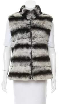 Adrienne Landau Reversible Fur Vest
