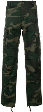 Carhartt camouflage print trousers