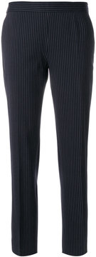 Alberto Biani striped fitted trousers