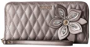 GUESS Sibyl Small Leather Goods Large Zip Around Handbags