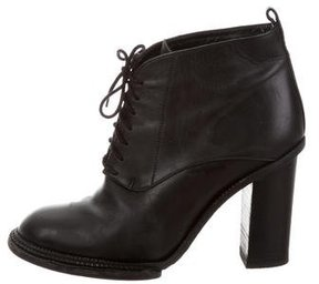 Derek Lam Leather Lace-Up Ankle Boots