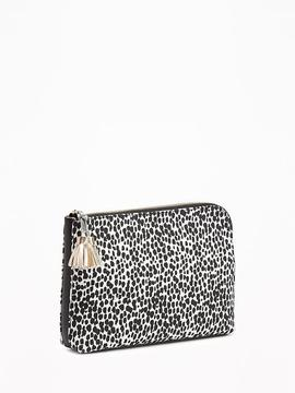 Animal-Print Clutch for Women