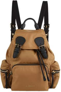 Burberry Buckled Rucksack - YELLOW - STYLE