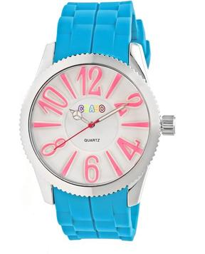 Crayo Magnificent Collection CRACR2905 Women's Watch with Silicone Strap