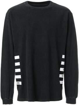 RtA logo print sweatshirt